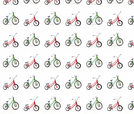 For the love of bikes fabric by iliketosew on Spoonflower - custom fabric