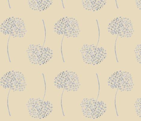 Wild Seeds, Honesty fabric by joheadington on Spoonflower - custom fabric