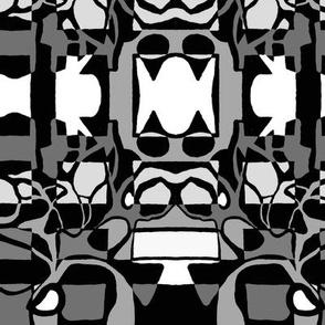 windows and doors of perception greyscale