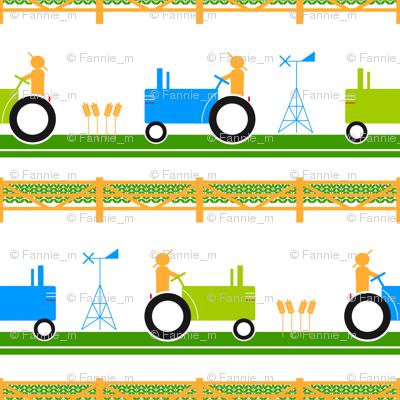 Seventies Tractors