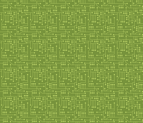 Circuit_110 fabric by lowa84 on Spoonflower - custom fabric