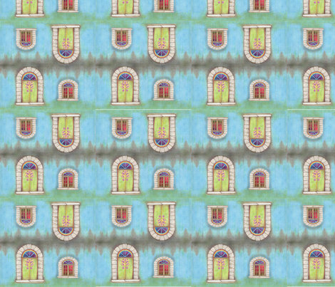 door2 fabric by dzyns on Spoonflower - custom fabric