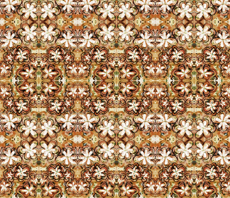 orangeflowers fabric by emmaleeerose on Spoonflower - custom fabric