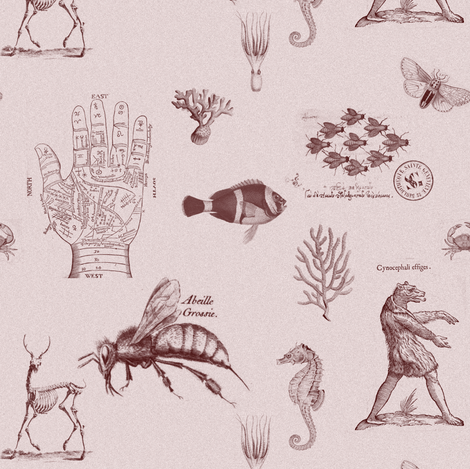 vintagesmauve fabric by ravynka on Spoonflower - custom fabric
