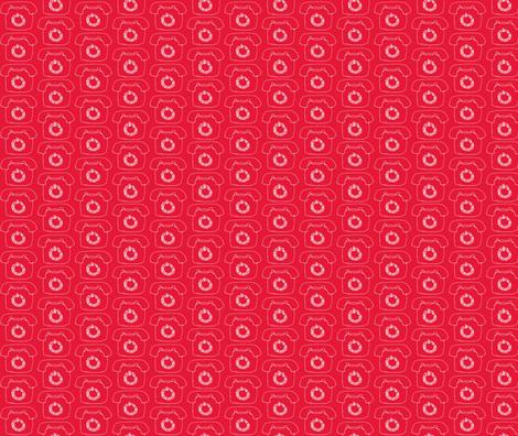 Telephone fabric by littlebeardog on Spoonflower - custom fabric