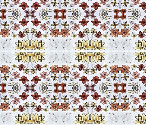 redflowers fabric by emmaleeerose on Spoonflower - custom fabric