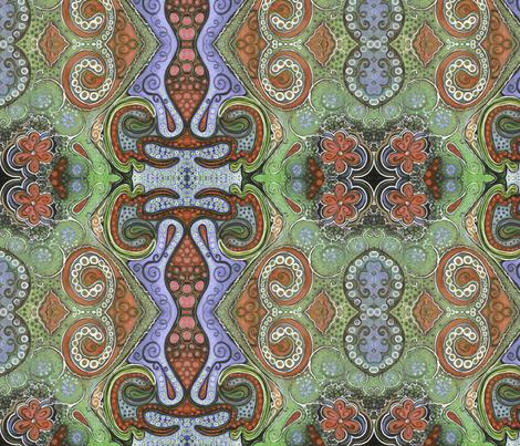 octopaisley fabric by emmaleeerose on Spoonflower - custom fabric