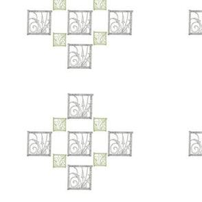 Flora Deco Fabric 1
