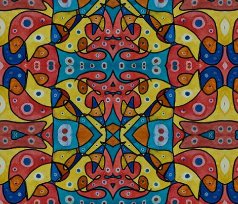 farm animals fabric by emmaleeerose on Spoonflower - custom fabric