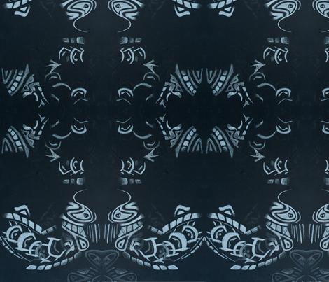 footprints fabric by emmaleeerose on Spoonflower - custom fabric