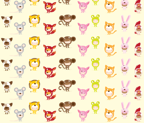 Funny Kids fabric by bora on Spoonflower - custom fabric