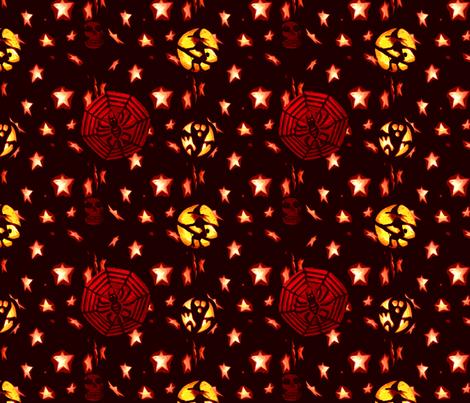 Halloween Pumpkins Mark 2 fabric by upcyclepatch on Spoonflower - custom fabric