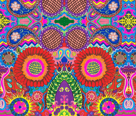Chars02 fabric by charldia on Spoonflower - custom fabric