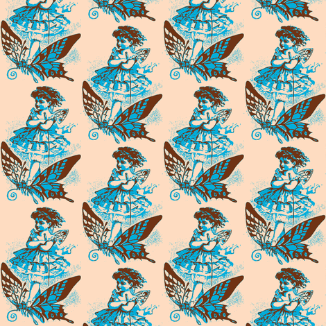 Airy Steed fabric by nalo_hopkinson on Spoonflower - custom fabric