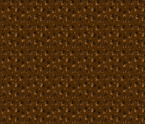 Abstract Black and Brown fabric by snooky on Spoonflower - custom fabric