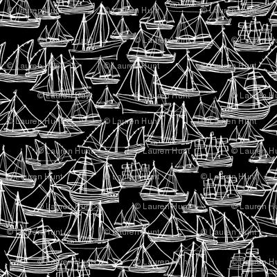 Sailing Ships - Midnight