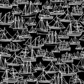 Sailing Ships - Midnight