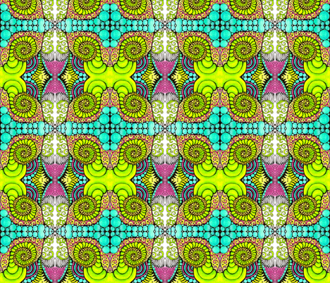 April fabric by chelmers on Spoonflower - custom fabric