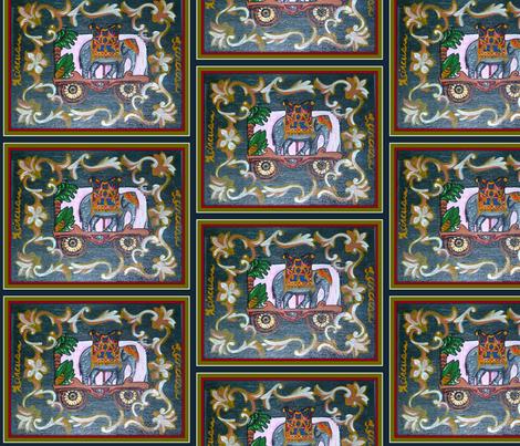 I Love the Circus-Large Print fabric by tresreneestudio on Spoonflower - custom fabric