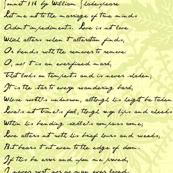 Continuous Sonnet 116