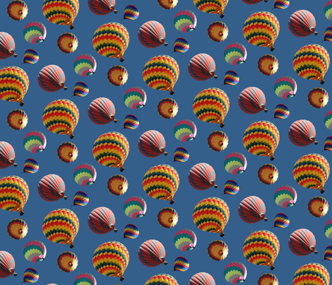 Lots of balloons fabric by hannafate on Spoonflower - custom fabric