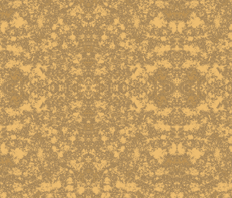 Lichen in Gold and Brown © 2010 Gingezel™ Inc. fabric by gingezel on Spoonflower - custom fabric