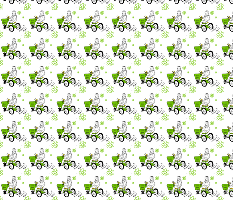tractorboy_PX fabric by kreativeomgivelser on Spoonflower - custom fabric