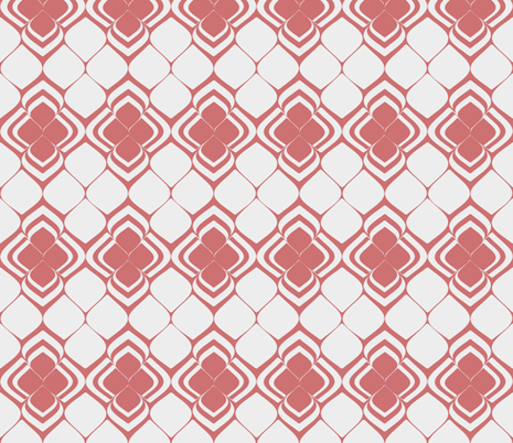 dusty pink petals fabric by delsie on Spoonflower - custom fabric