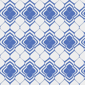 Cobalt blue petals