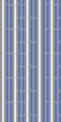 Cobalt blue stripe