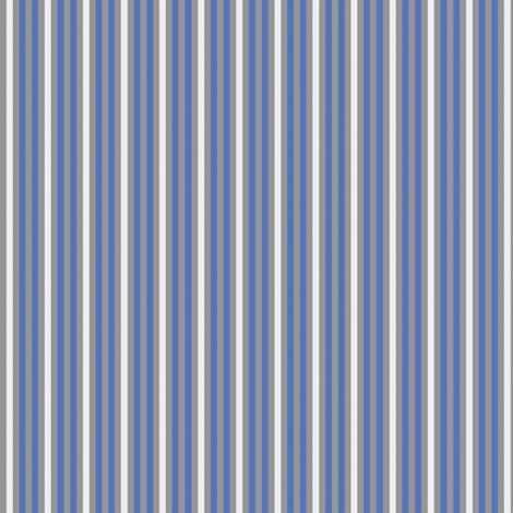 Cobalt blue stripe fabric by delsie on Spoonflower - custom fabric