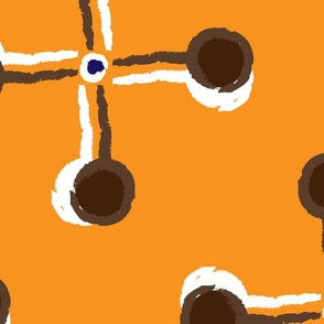 Lollipop Pinwheels in Orange Large © ButterBoo Designs 2010