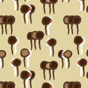 Lollipop Forest in Brown © ButterBoo Designs 2010