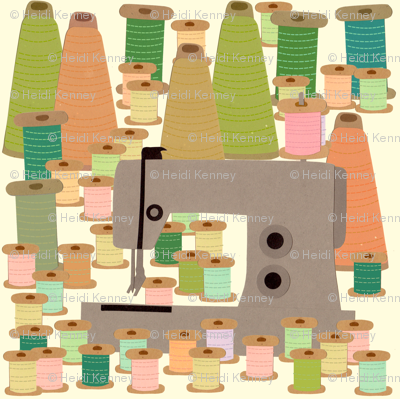 sewing forest