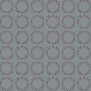 Edgy Circles in Red and Grey small © 2009 Gingezel Inc.