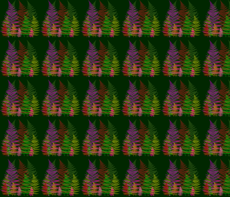 Trees fabric by snooky on Spoonflower - custom fabric