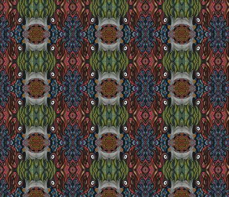 in fire in dreams fabric by emmaleeerose on Spoonflower - custom fabric