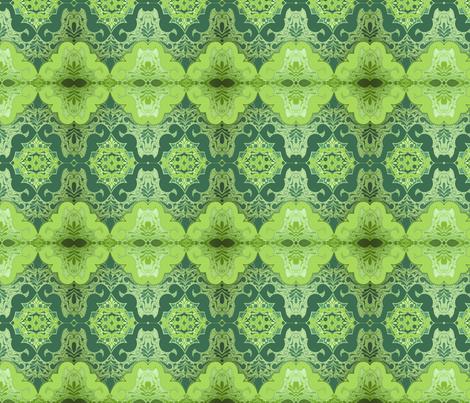 grööööööön fabric by snork on Spoonflower - custom fabric