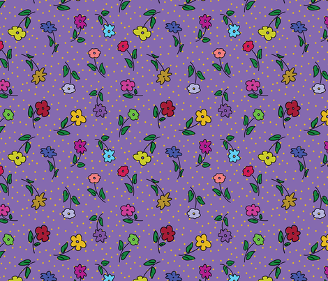 Calio Flowers fabric by donnamarie on Spoonflower - custom fabric