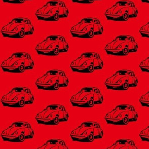 red punch buggy - red bkgd
