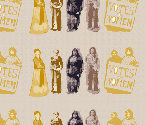 Women Suffrage-274 fabric by kkitwana on Spoonflower - custom fabric