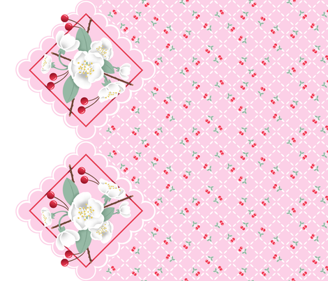 Very_Cherry fabric by eclectic_mermaid on Spoonflower - custom fabric