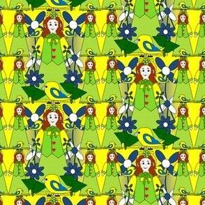 Doris Marie - Elmer's Little Sister Victorian Doll - Small Fabric