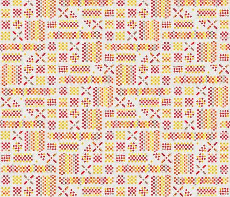 PlaitedPaper_ohneLinien fabric by annosch on Spoonflower - custom fabric