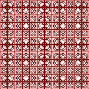 Vintage Red Motif