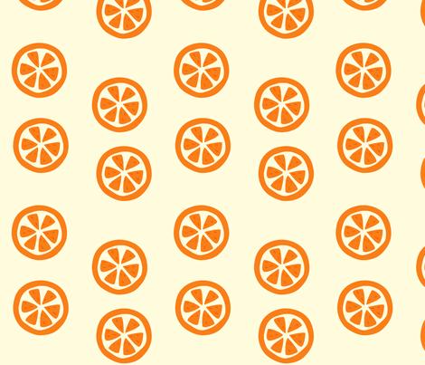 orange_slices fabric by featheredneststudio on Spoonflower - custom fabric