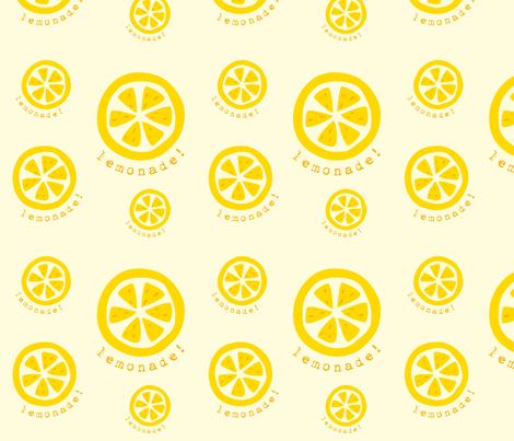 lemonade_slice fabric by featheredneststudio on Spoonflower - custom fabric