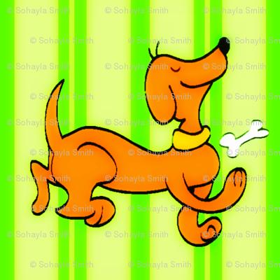 Dipley-Doo-Dog-Stripes-Vintage