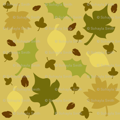 Fall-In-Leaves-Sepia