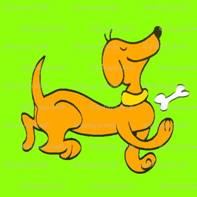 Dipley-Doo-Dog-Green